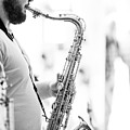 The Saxophonist by Keith Morris