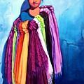The Scarf Seller by Susan Santiago