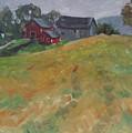 The Schneider Farm by Len Stomski