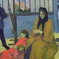 The Schuffenecker Family by Paul Gauguin