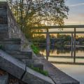 The Schuylkill Steps - East Falls - Philadelphia by Bill Cannon