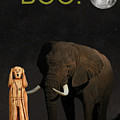 The Scream World Tour African Elephant Boo by Eric Kempson