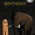 The Scream World Tour African Elephant Happy Birthday by Eric Kempson