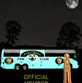 The Scream World Tour Football Tour Bus by Eric Kempson