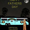 The Scream World Tour Football Tour Bus Fathers Day by Eric Kempson