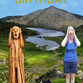 The Scream World Tour Snowdon With Jill Beddoes Birthday by Eric Kempson