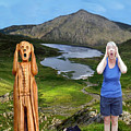 The Scream World Tour Snowdon With Jill Beddoes by Eric Kempson