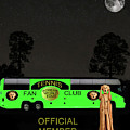 The Scream World Tour Tennis Tour Bus by Eric Kempson