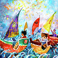 The Sea Cruise Of Tivoli Gardens by Miki De Goodaboom