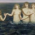 The Sea Maidens by Evelyn De Morgan