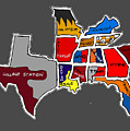 The Sec South Eastern Conference Teams by Michael Garber