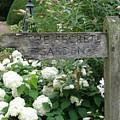 The Secret Garden Sign by Karen Jane Jones