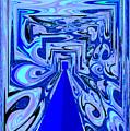 The Secret Room Abstract by Debra Lynch