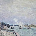 The Seine At Grenelle  by MotionAge Designs