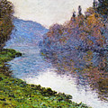 The Seine At Jenfosse by Claude Monet