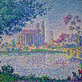 The Seine At Mantes, By Paul Signac, 1899-1900, Kroller-muller M by Peter Barritt