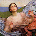 The Sense Of Sight By Annie Swynnerton  by Annie Swynnerton