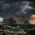 The Shipwreck by Claude-Joseph Vernet