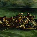 The Shipwreck Of Don Juan by Ferdinand Victor Eugene Delacroix
