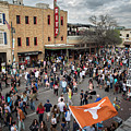 The Sights And Sounds Of Sxsw Are Enormous From 6th Street As Thousands Of Revelers Fill The Streets by Austin Welcome Center