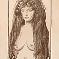 The Sin by Edvard Munch
