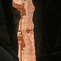 The Siq At Petra by David Birchall