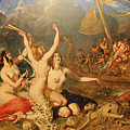The Sirens And Ulysses by William Etty