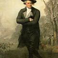 The Skater Portriat Of William Grant by Gilbert Stuart