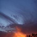 The Sky Is On Fire  by Cullen Knappen