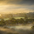 The Sky Kissed The Land by Simon Garratt