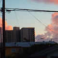 The Sky Over My Apartment by Jaime Paberzis