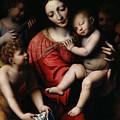 The Sleeping Christ by Bernardino Luini