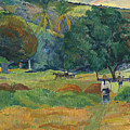 The Small Valley by Paul Gauguin