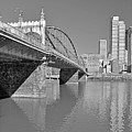 The Smithfield Street Bridge In Pittsburgh  by Digital Photographic Arts