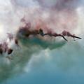 The Smoke Painting by Angel  Tarantella