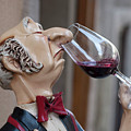 The Snooty Wine Sniffer by Carl Purcell