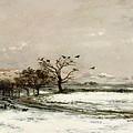 The Snow by Charles Francois Daubigny