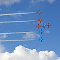 The Snowbirds In Flight by Tatiana Travelways