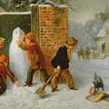 The Snowman by Edward Charles Barnes