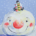 The Snowman's Head by David Cooke