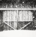 The Snowy Barn II by Lisa Russo