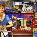 The Soda Fountain by David Patterson