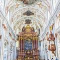Lucerne's Jesuit Church  by Lisa Lemmons-Powers