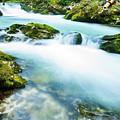 The Soteska Vintgar Gorge, Gorje, Near Bled, Slovenia by Ian Middleton