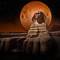 The Sphinx by Nasser Osman