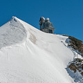 The Sphinx Observatory Above The Aletsch Glacier. by Brenda Jacobs
