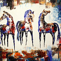 The Spirit Of Texas Horses by Jennifer Morrison Godshalk