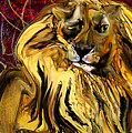 The Squinting Lion by Anne Weirich