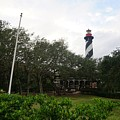 The St. Augustine Light Station by Red Cross