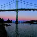 The St Johns Bridge by Thomas C Brown